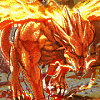 guardians_song: A Fire Dragon from Fire Emblem: Rekka no Ken. (Fire Dragon)