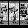 alexiel_neesan: graphic novel graffiti of life fast love hard die with your mask on (die with your mask on)