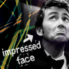 angelbabe_cj: The 10th Doctor's impressed face, labelled as such. (doctor's impressed face)