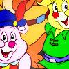 isabear: Gummi bears from the tv show, posing and smiling (Gummi smiles)