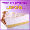 "acelightning: a slice of lemon meringue pie, ""when life hands you lemons..."" (lemons)"