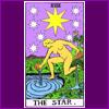"acelightning: the Tarot card ""The Star"" (Tarot)"