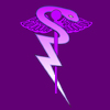 acelightning: caduceus with the snake's tail becoming a lightning bolt (caduceus)