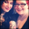 cupkatycakes: (My sister Alannah and I)