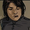 ejne7: Comic art illustration of a Latina cop (Default)