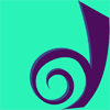 timeasmymeasure: dreamwidth logo stylized dark violet on a cyan background (dreamwidth: icon)