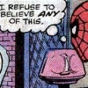 carnivorousgiraffe: Spider-Man thinking 'I refuse to believe ANY of this.' (Unbelievable)