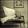 dextrocardiac: (an angel in repose)