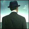 hyperconformist: view of nucky thompson's back from the opening credits of bopardwalk empire (nucky thompson)