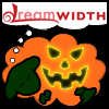 red_trillium: Orange Dreamsheep with a kind of spooky jackolantern face (Spooky Pumpkinsheep)