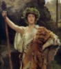 kyrene: (Maenad with thyrsos)