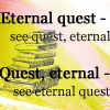 petra: Text: Eternal Quest - See Quest, Eternal. Quest, Eternal - See Eternal Quest. (DWJ - Eternal Quest)