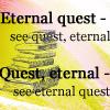 petra: Text: Eternal Quest - See Quest, Eternal. Quest, Eternal - See Eternal Quest. (DWJ - Eternal Quest)