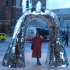 zirconium: me @Niki de St Phalle's Firebird (firebird)
