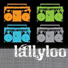 lallyloo: (music - boomboxes)