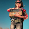 themeletor: badass little girl from danger days trailer holding boombox (detonation)
