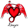 denyce: (stock: name denyce devil/wingsby)