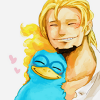 fierybluebird: (Phoenix snuggles for Thatchbro)