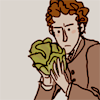 orm: marius contemplates lettuces intently (HMM: lettuce idleness)