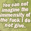 almadsfeika: (don't give fuck)