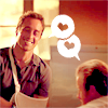 winkingstar: Steve and Danny (Hawaii Five-O) looking fond with hearts in speech bubbles. ([H50] flirt)