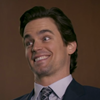 jumpuphigh: Neal Caffrey with a ridiculously large smile. (Happy Neal)