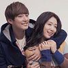 dokmi: (flower boy next door; hugs)