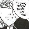 shaenie: (straight to hell)