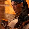 genusshrike: Isabela smirking as she drinks. (isabela)