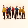 melospiza: the main players standing in a line (fandom - star trek xi - crew)