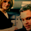 shirasade: criminal intent: eames looking down at goren (ci - partners (goren/eames))