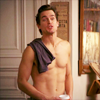 anticommonplace: (Shirtless | After Shower Talking)