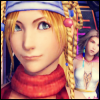schattenstern: Rikku from Final Fantasy 10-2, thinking (FFX - Thinky Thoughts)