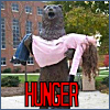 suicide_bear: A bear holding a dead lady.  Text reads: HUNGER (hunger)