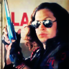 turlough: Jet Star (Ray Toro) with raygun, Art is the Weapon video, Sept 2010 ((mcr) ray is badass)