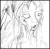 lexiomnia: pencil line drawing of girl (Default)