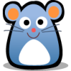 medicalmouse: happy blue cartoon mouse (Default)