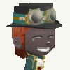 waterfall8484: My character from the game Glitch - steampunk style! (Steampunk Glitch)