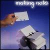 mindglitter: (making notes)