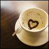 sparklespiff: heart in a coffee cup (cupofheart)