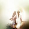 briar_pipe: Gwen and Morgana running away together (Gwen & Morgana running)