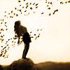 manmustdance: (girl with birds)