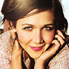 goodbyebird: Maggie Gyllenhaal is smiling at you. (STOCK Maggie thinks you're awesome)