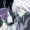 erin_c_1978_fic: Screencap from Noein; icon by mechaphilia; Karasu and Haruka saying goodbye (karasu&haruka)