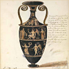 quillori: illustration of a greek vase (theme: history (greek vase), country: greece)