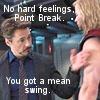 tardis_gal: Tony & Thor (Avengers_Point Break)