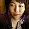 jain: Mako Mori smiling. (pacific rim mako)