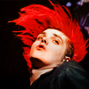 akamine_chan: Geeway with his red hair (MCR - Geeway - Flaming Red)