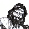 tablesaw: Me, as a magic user, with long flowing hair, a sever beard, and focused eyes (Unknown Armies)