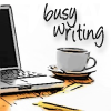 nicolerye: Busy writing at a desk (Busy writing)